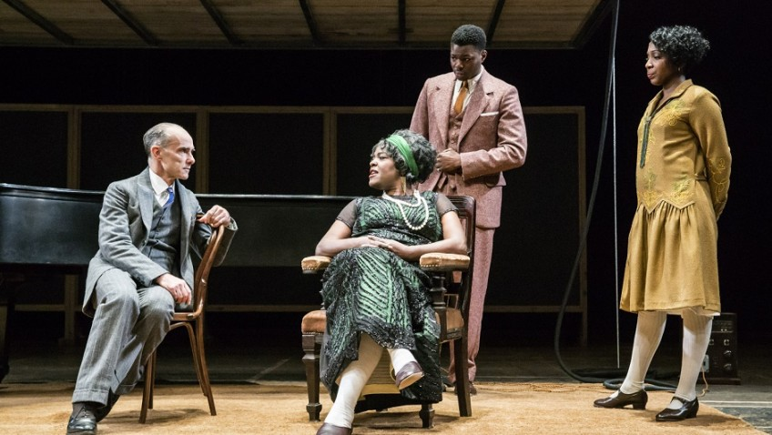 "The National Theatre is having a big success with August Wilson's ""Ma Rainey's Black Bottom"""