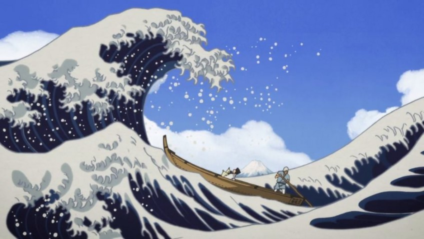 A ravishing animated biopic of the famous artist Hokusai's talented daughter