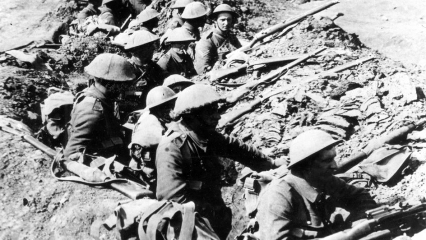 Tommies spent less than half their time in trenches