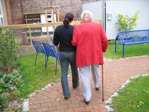 Carer and mature woman - Free for commercial use  No attribution required - Credit Pixabay
