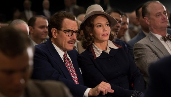 Bryan Cranston shines as  the blacklisted, Oscar-winning writer Dalton Trumbo