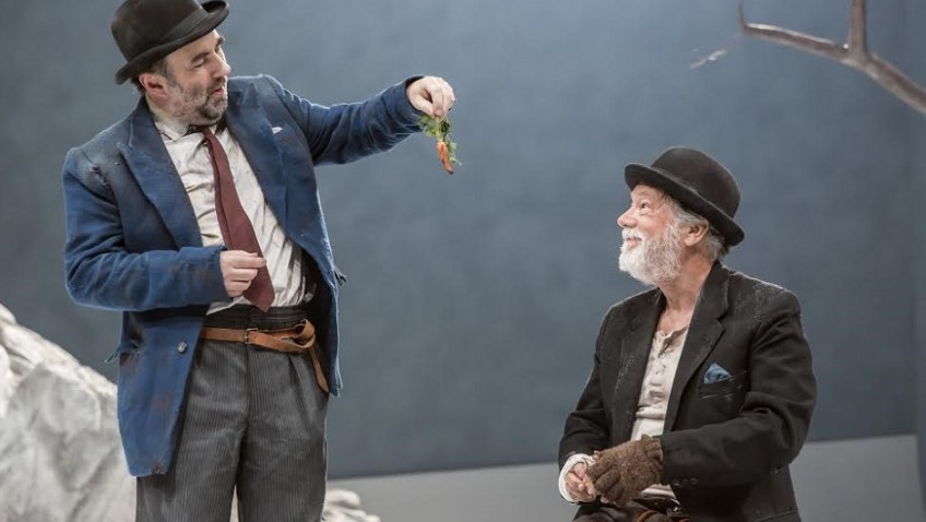 A brilliant, funny encouragement of hope for tomorrow in Waiting for Godot