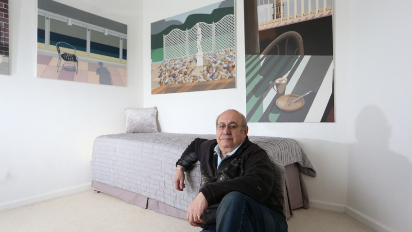 Painter opens up home to public after turning it into art gallery