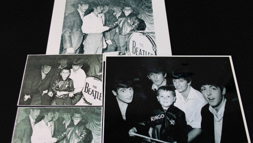 Memorabillia sale of honorary Beatle