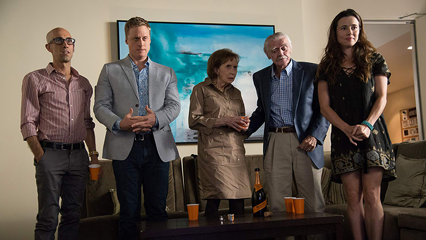 Linda Cardellini, Joyce Hiller Piven, Mitch Silpa, Alan Tudyk and Jack Wallace in Welcome to Me - Credit IMDB