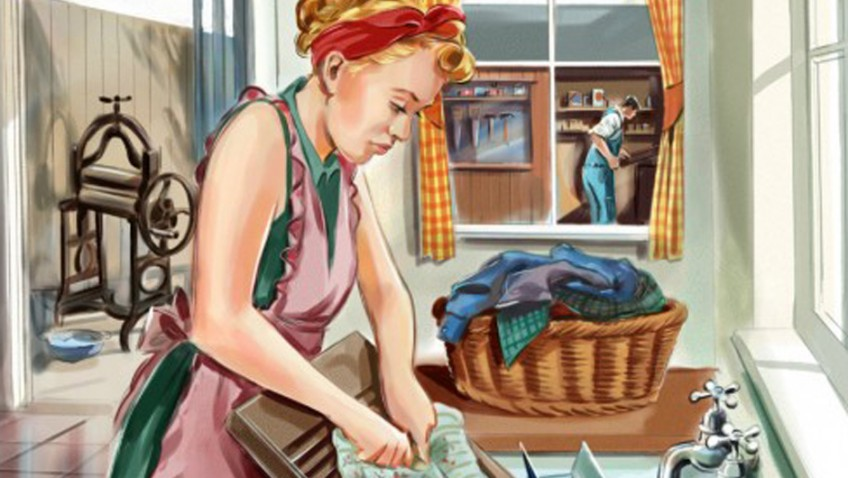 Mod cons cut time doing weekly chores by 55 hours