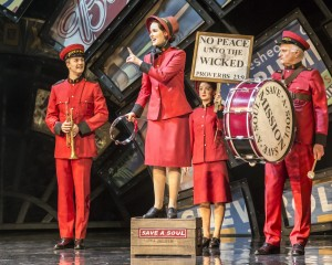 Guys and Dolls - Sheffield Lyceum - Anna OByrne as Sarah Brown - Credit Johan Persson