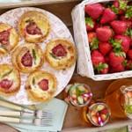BerryWorld strawberry & British asparagus mini quiches
