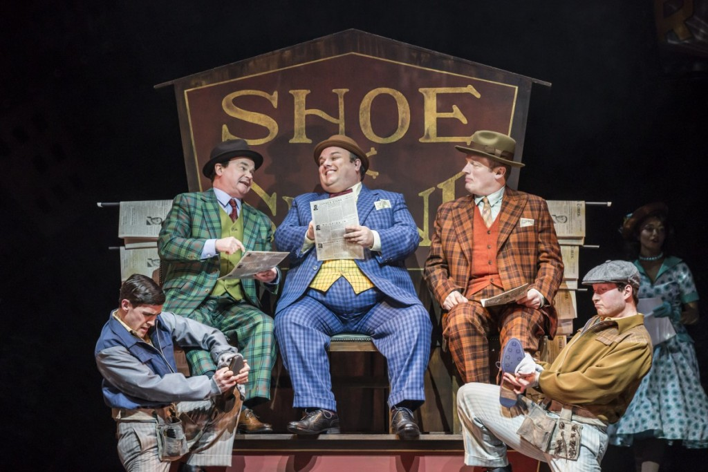 Guys and Dolls - Sheffield Lyceum - Credit Johan Persson