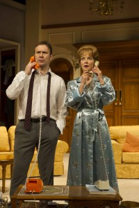 Jason Merrells and Jenny Seagrove in How the Other Half Loves by Alan Ayckbourn