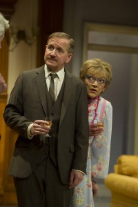 Matthew Cottle and Gillian Wright in How the Other Half Loves by Alan Ayckbourn