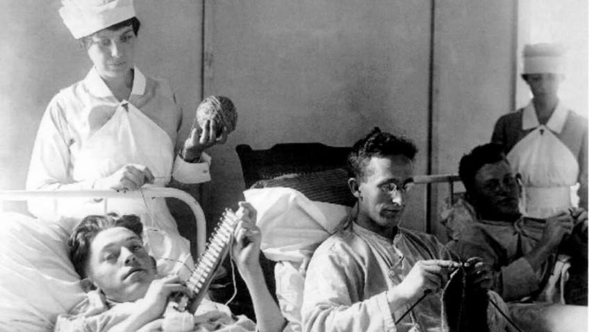 Annie Johnson reviews Knitskrieg a Call to Yarns!by Joyce Meader