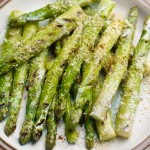 Mexican-style asparagus with lime & sour cream glaze