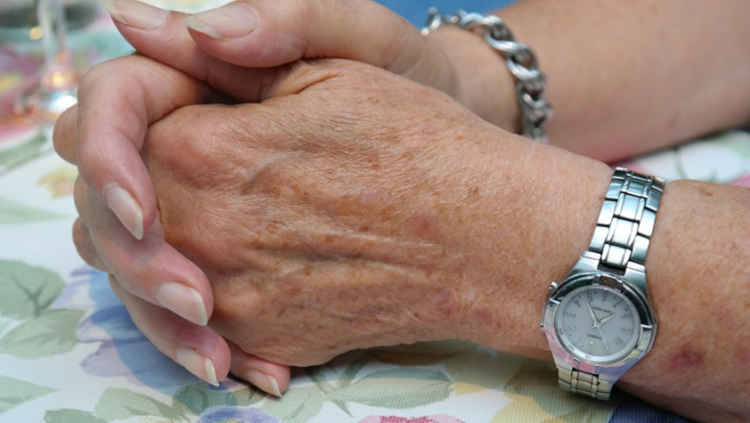 Skin cancer spreads in older people