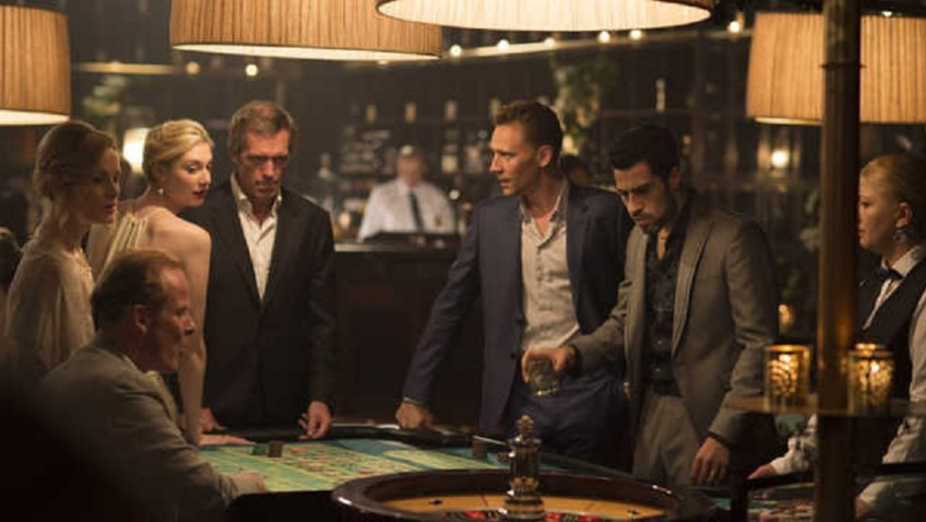 Tom Hiddleston and Hugh Laurie in superior spy series