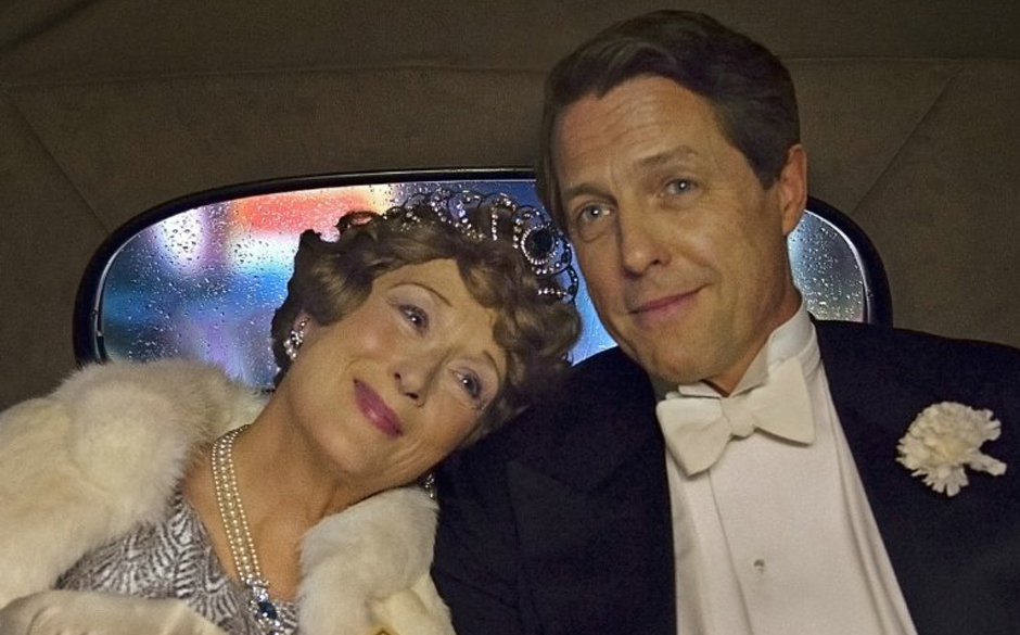 Still of Hugh Grant and Meryl Streep in Florence Foster Jenkins (2016) - Credit IMDB