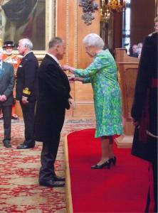 Ray Edwards awarded honour by Queen Elizabeth II