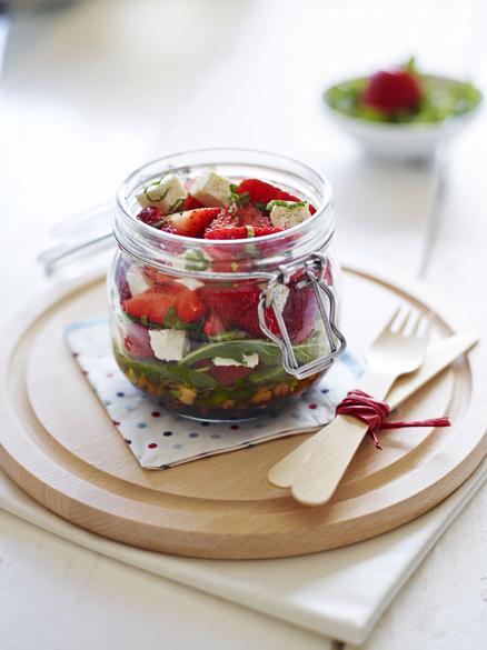 BerryWorld Strawberry Kilner Jar Salad