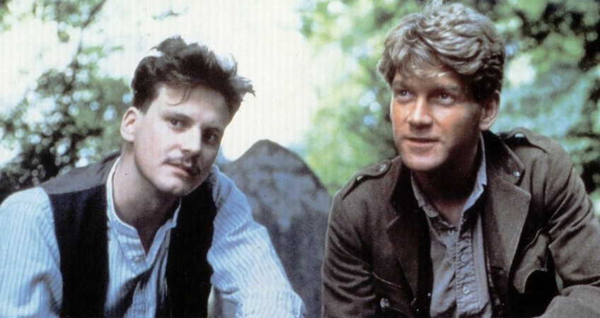 A film with Colin Firth and Kenneth Branagh when they were young and at the beginning of their careers