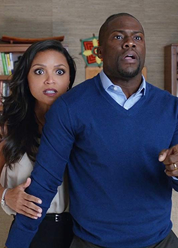 Kevin Hart and Danielle Nicolet in Central Intelligence - Credit IMDB