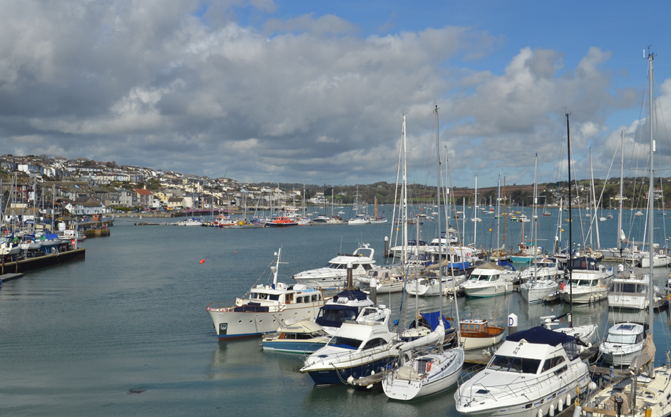 Yachts in Falmouth