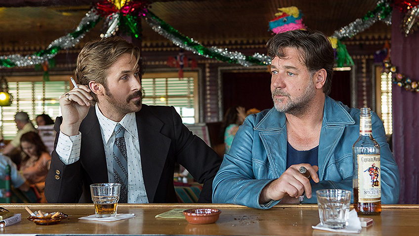 Shane Black is back with Ryan Gosling and Russell Crowe as two mismatched private detectives