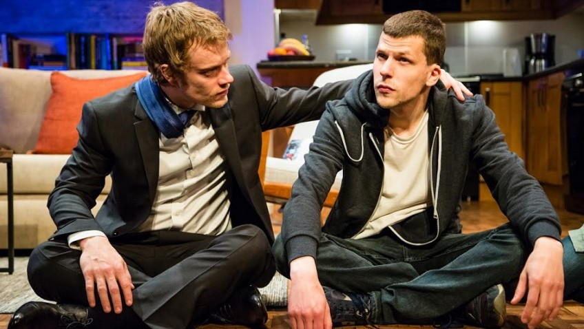 Jessie Eisenberg makes his London stage debut