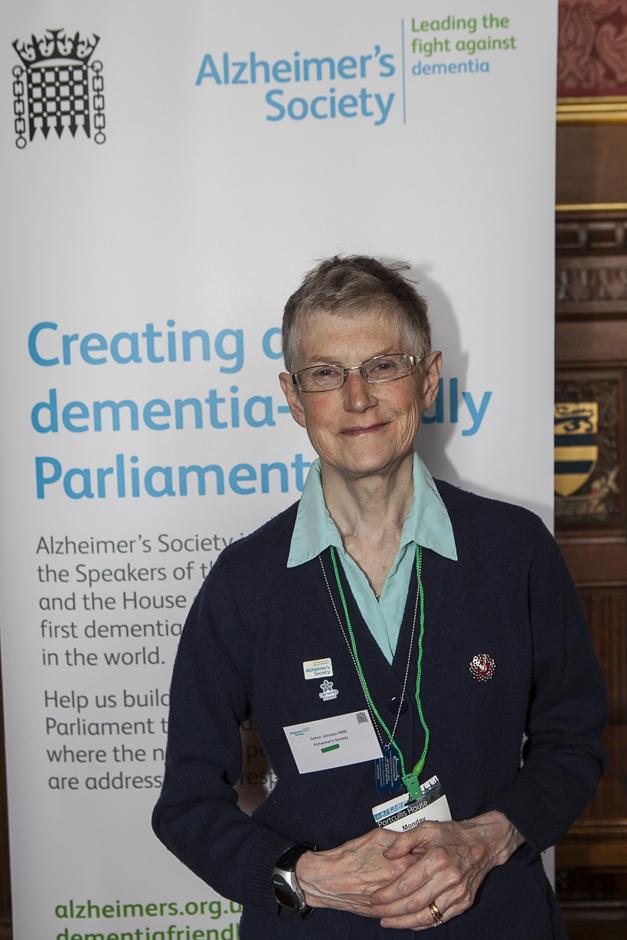 Ann Johnson - Alzheimers Society - Dementia Friendly Parliament - Copyright Pete Jones