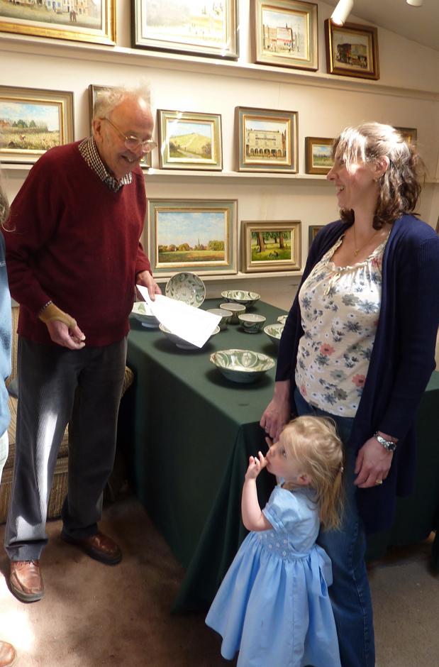 Chris Hall talks to Caroline and Harriett Saunders