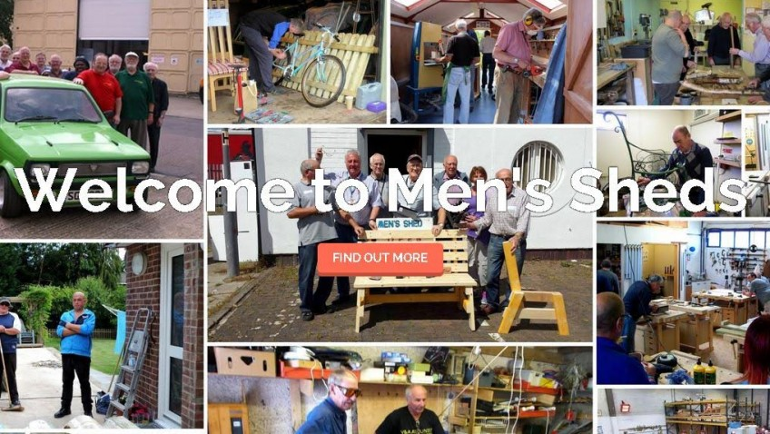Men's Sheds have come of age