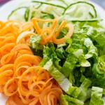Making a meal more exciting for kids – Slurpy salad