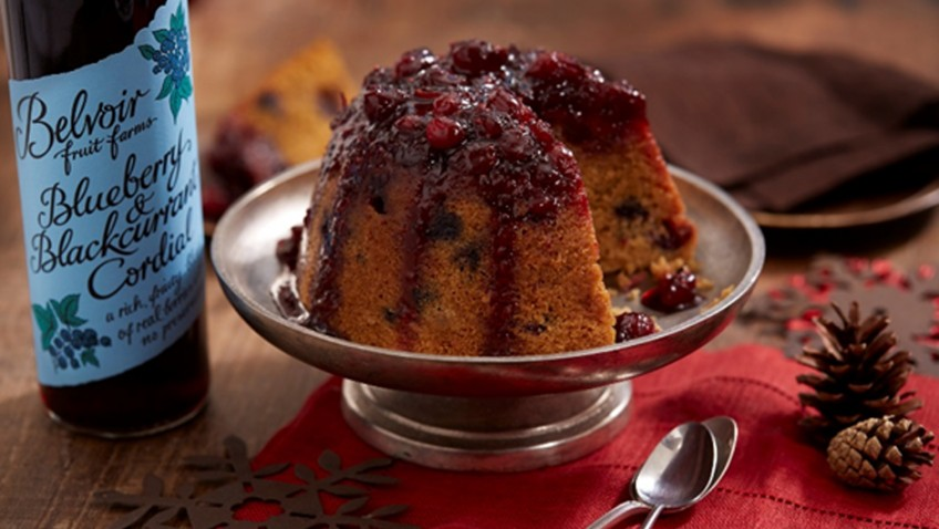 Ian Cumming's Merry Berry steam pudding