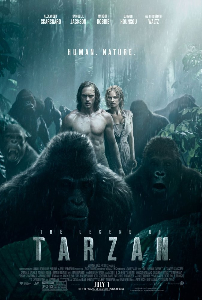 The Legend of Tarzan cover - Credit IMDB