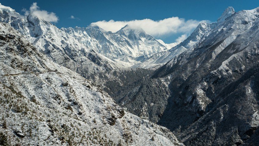 Pensioner climbed Everest aged 76