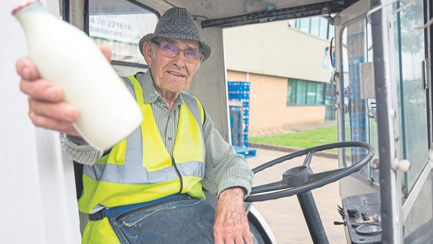Oldest milkman in the West (Midlands)