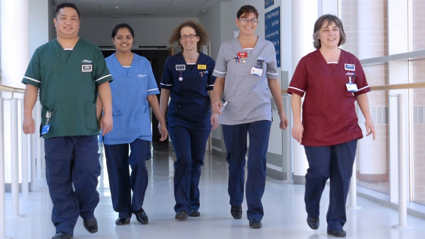 How a nurse's role has developed over the years