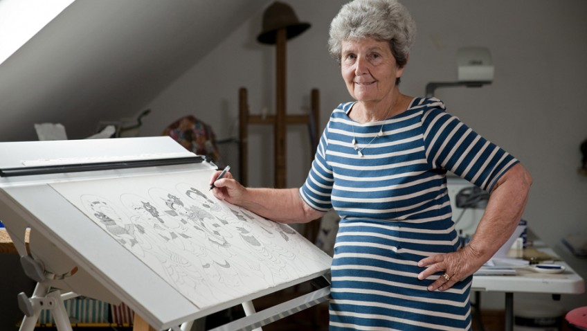 Irene Lees set to star at exhibition alongside Tracey Emin despite not starting drawing till she was 60