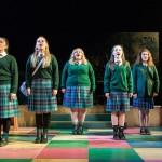 Convent schoolgirls go wild in Edinburgh!