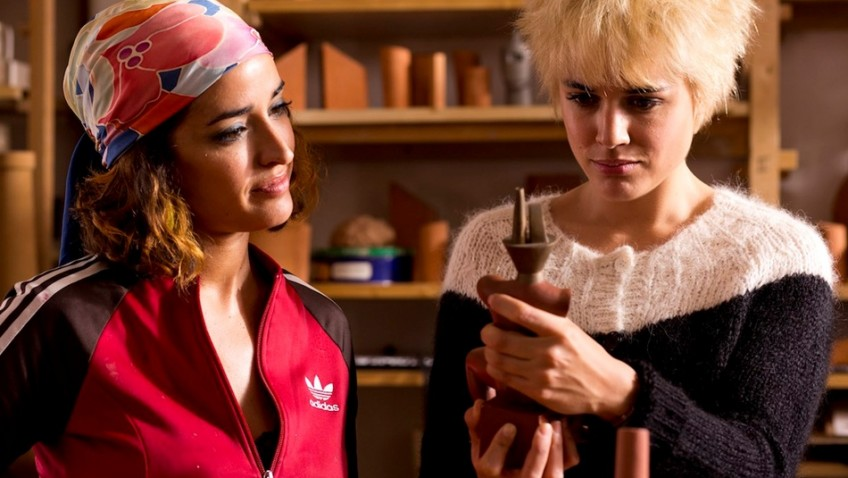 Almodóvar's study of guilt and loss is a sight for sore eyes.