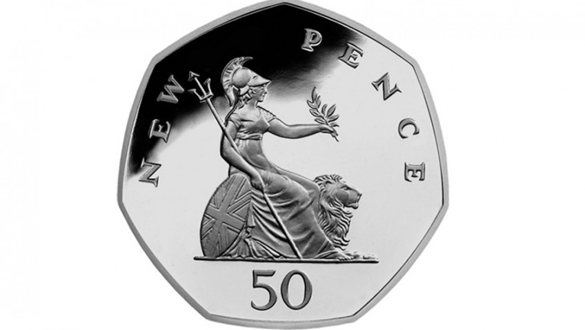 50 pence coins: The art in your pocket