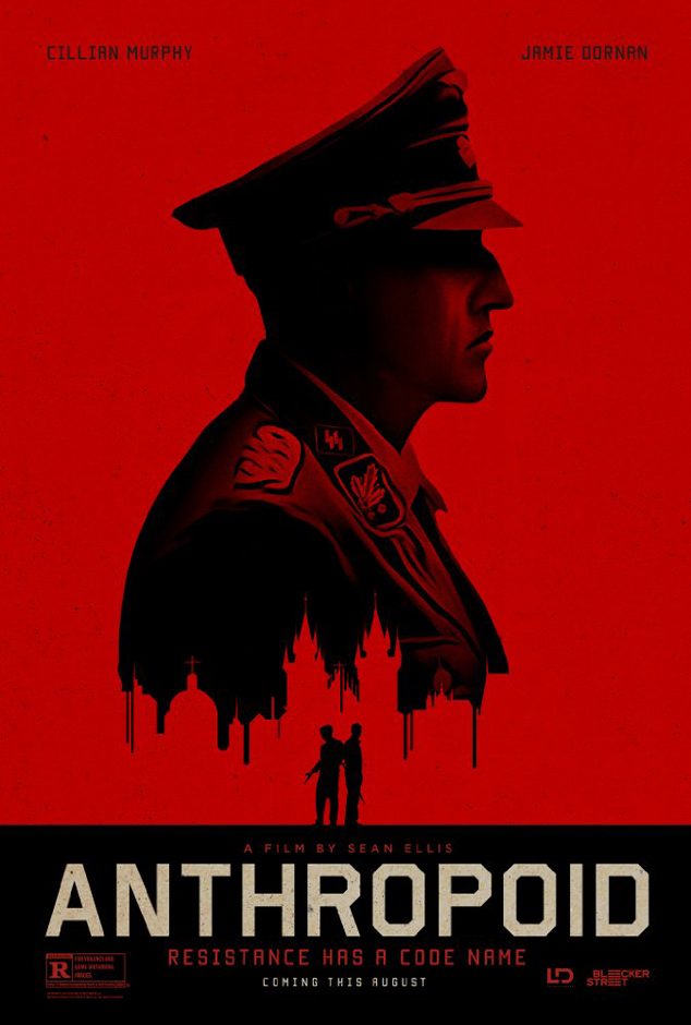 Anthropoid film poster - Credit IMDB