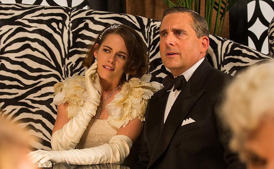 Steve Carell and Kristen Stewart in Café Society - Credit IMDB