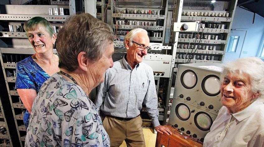 Team of veteran programmers help reboot UK's oldest university computer