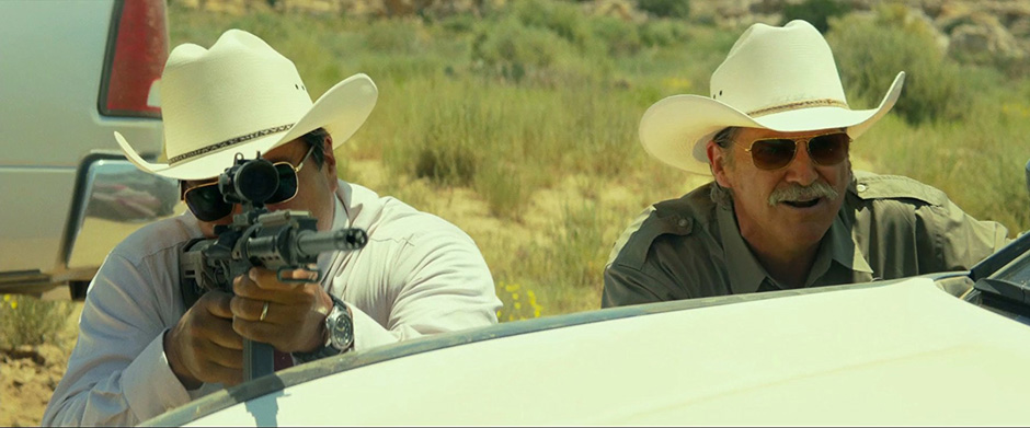 Jeff Bridges and Gil Birmingham in Hell or High Water - Credit IMDB