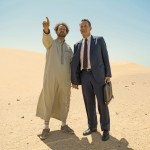 Tom Hanks in a real and mystical desert in Saudi Arabia