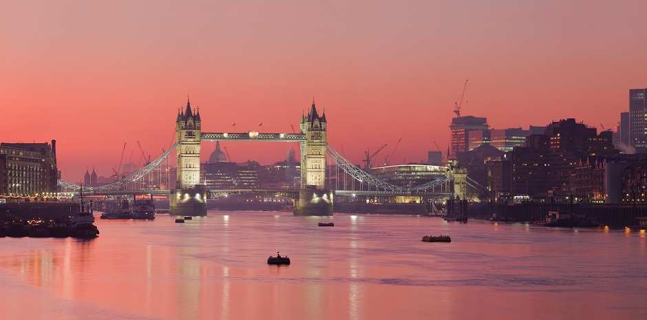 London and Tower Bridge at Sunset - Top cities