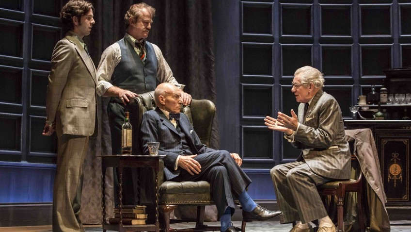 Ian McKellen and Patrick Stewart in Harold Pinter play