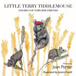 book cover Little Terry Tiddlemouse mice in corn
