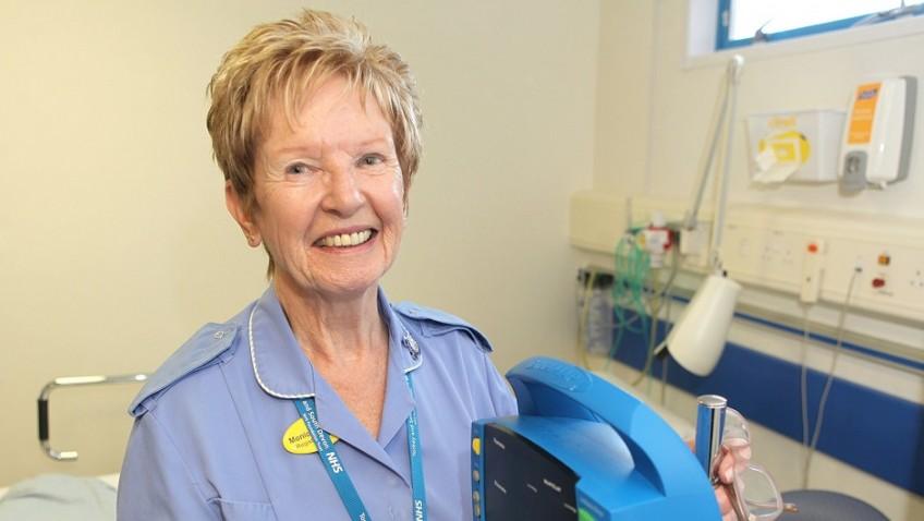 Oldest nurse in Britain