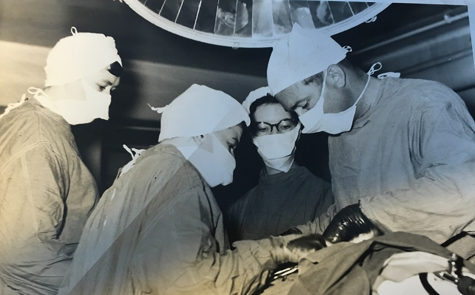 Nurse Monica Bulman still working on the Endoscopy ward at the age of 83 at Torbay hospital - the oldest nurse in Britain